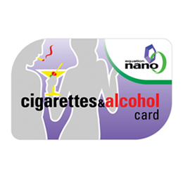 Cigarettes & Alcohol Card